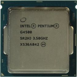 cpu s-1151 pentium-g4500 box
